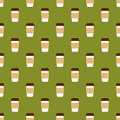 A seamless pattern, can be tiled on all sides. File is built in the CMYK color space for optimal printing and can easily be converted to RGB. No gradients or transparencies used, the shapes have been placed into a clipping mask.