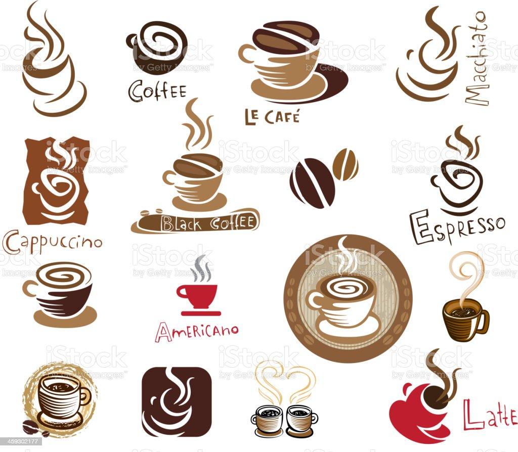 Coffee set. royalty-free stock vector art