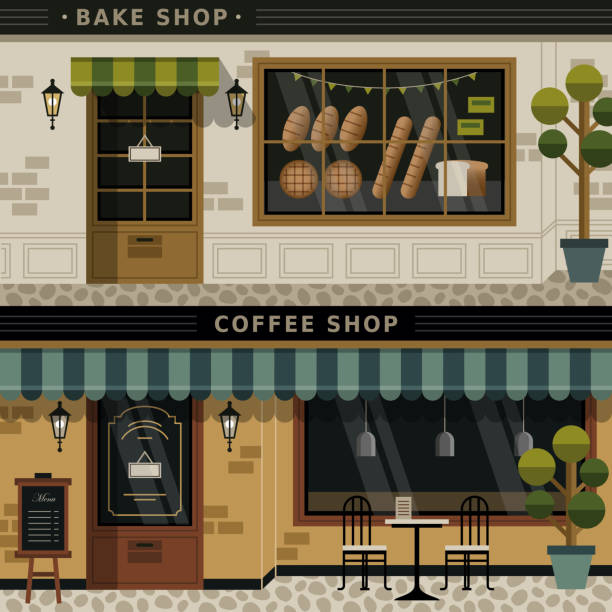 Royalty Free Coffee Shop Clip Art, Vector Images ...