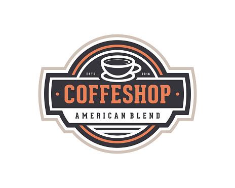 Coffee Shop Emblem Template