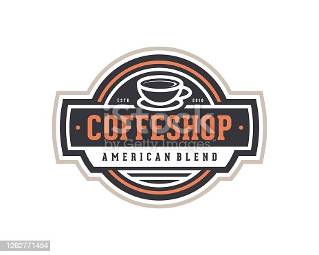 istock Coffee Shop Emblem Template 1262771454