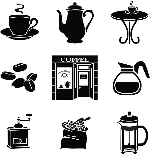 Royalty Free Coffee Pot Clip Art, Vector Images ...
