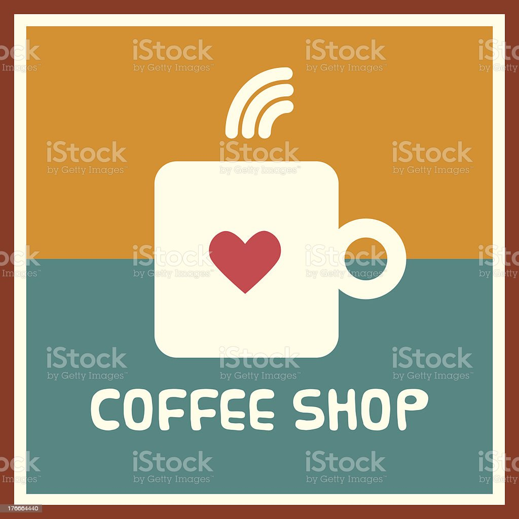 Coffee shop logo royalty-free coffee shop logo stock vector art & more images of badge