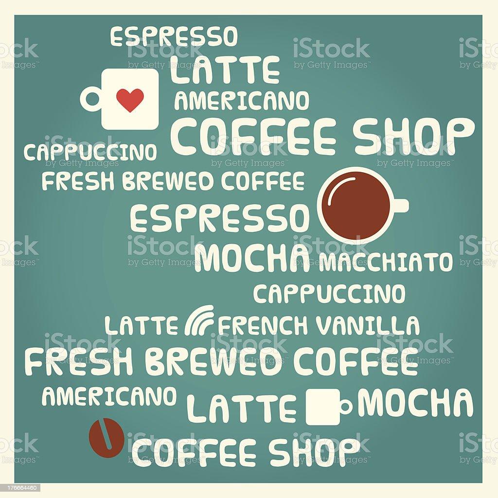 Coffee shop menu/banner royalty-free coffee shop menubanner stock vector art & more images of badge