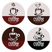 Coffee symbols set
