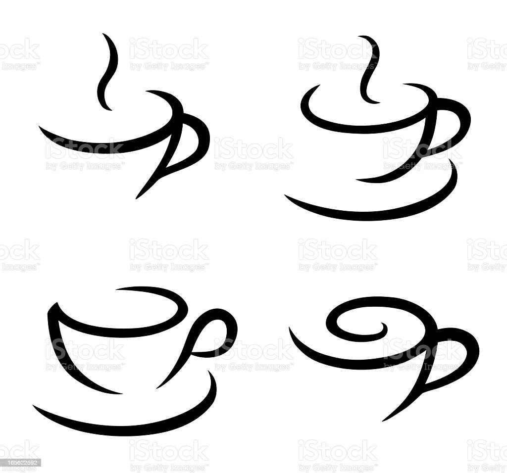 coffee symbols royalty-free coffee symbols stock vector art & more images of arts culture and entertainment