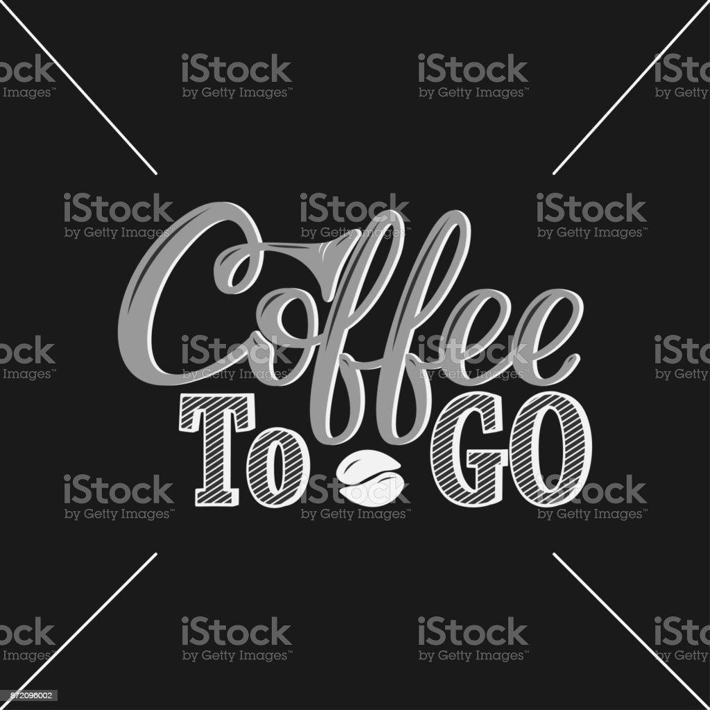 コーヒーを飲み手描きプリントポスターメニュー デザインバナーstikers
