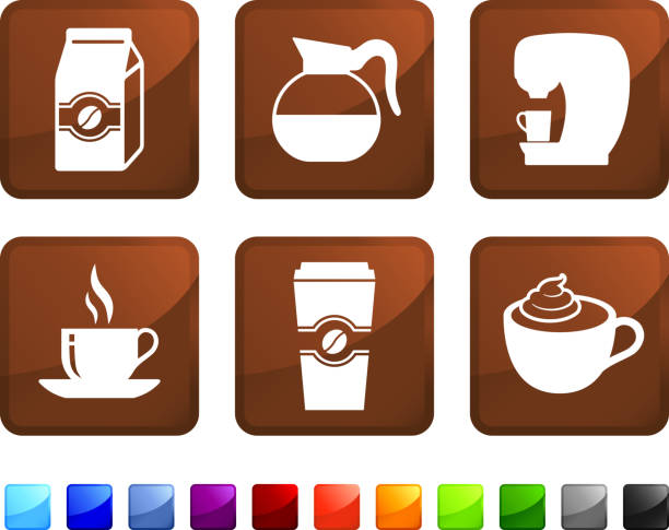 Best Coffee Brewing Illustrations, Royalty-Free Vector ...