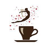 cup of love fairy coffee