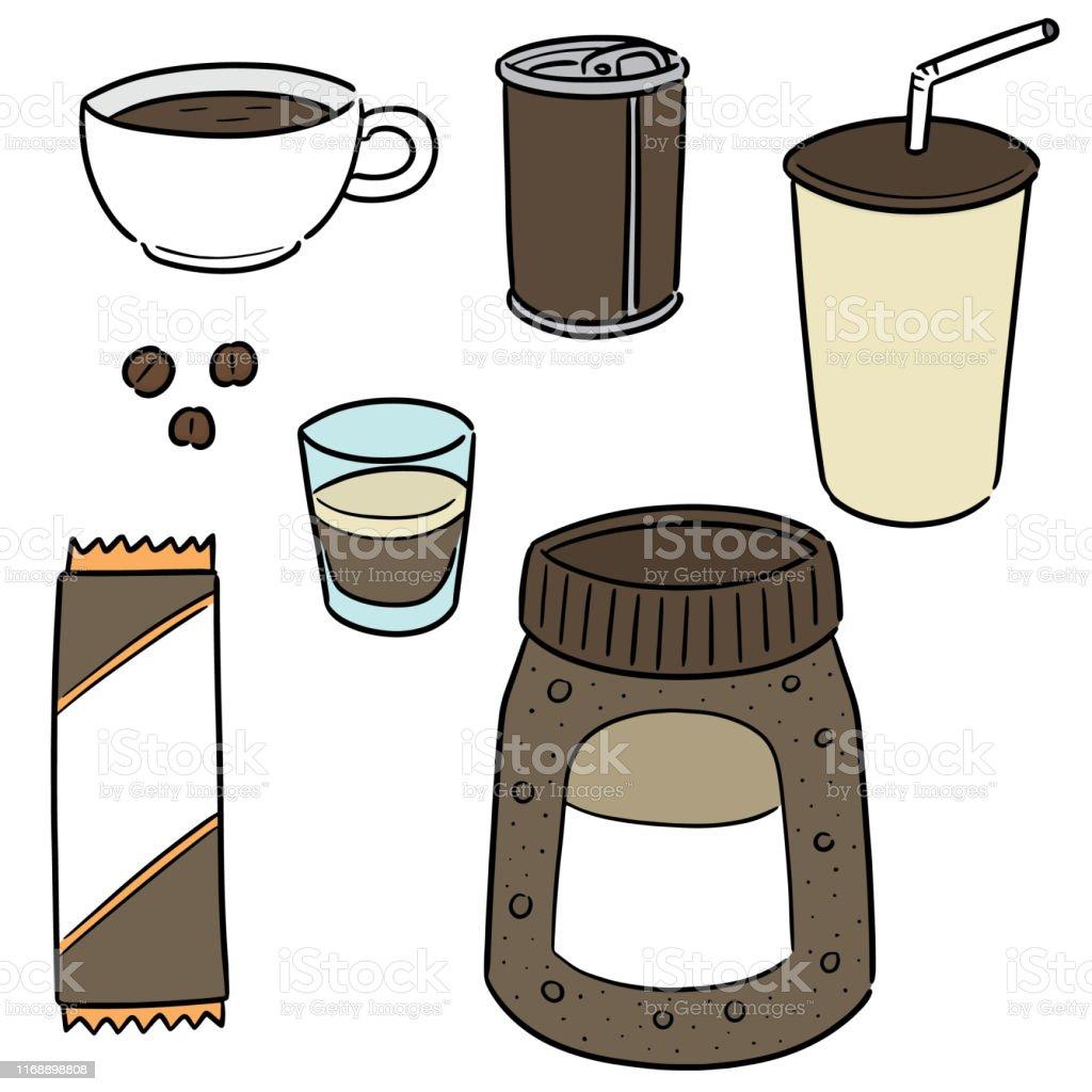 coffee - Royalty-free Arte Linear arte vetorial