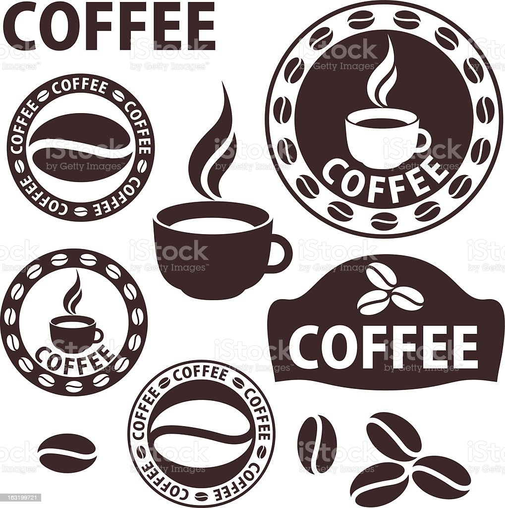 Coffee royalty-free coffee stock vector art & more images of africa