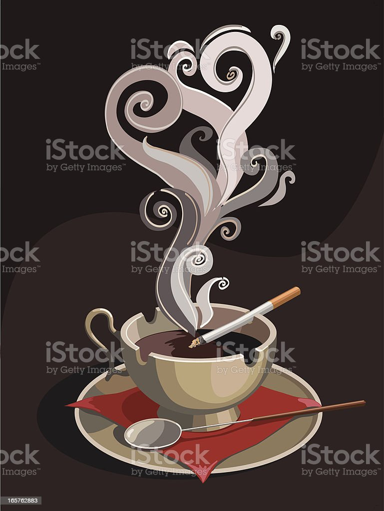 coffee royalty-free coffee stock vector art & more images of art