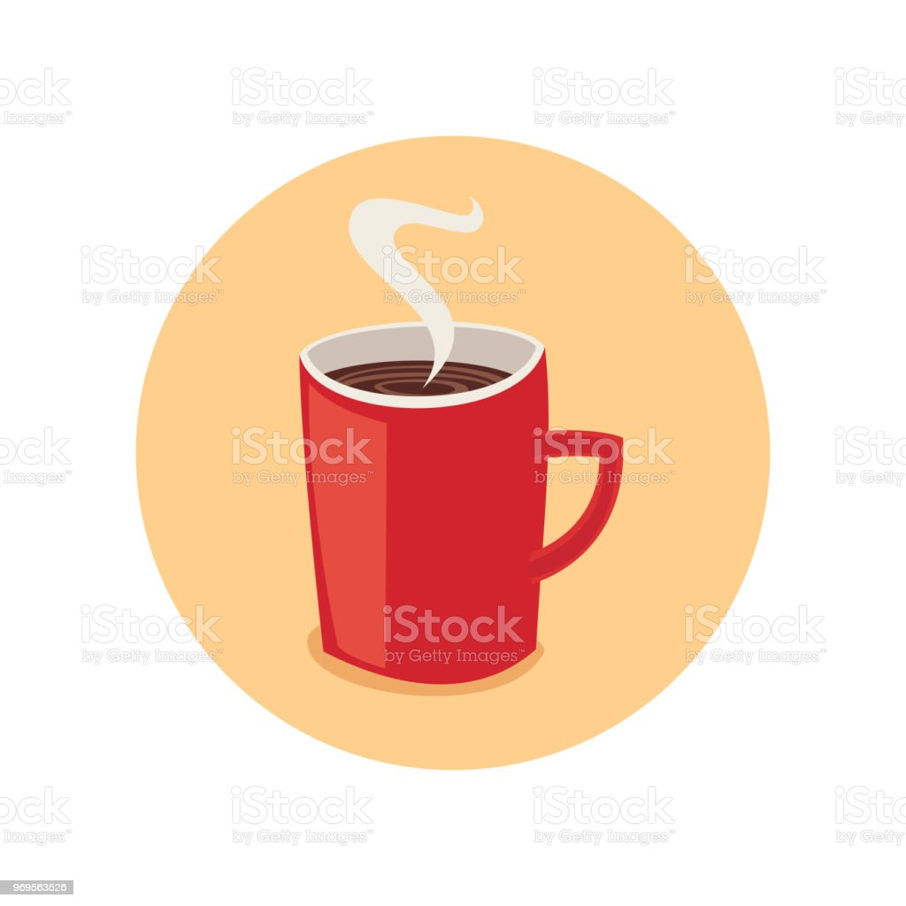 Coffee vector art illustration
