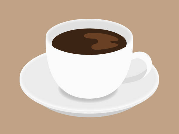 coffee - coffee cup stock illustrations, clip art, cartoons, & icons
