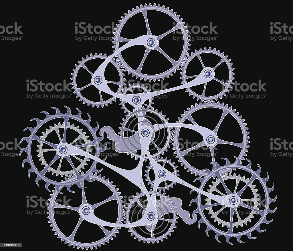 Cogs and gears royalty-free cogs and gears stock vector art & more images of ball bearing