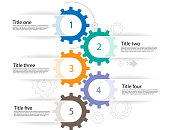 infograhics teamwork design planning