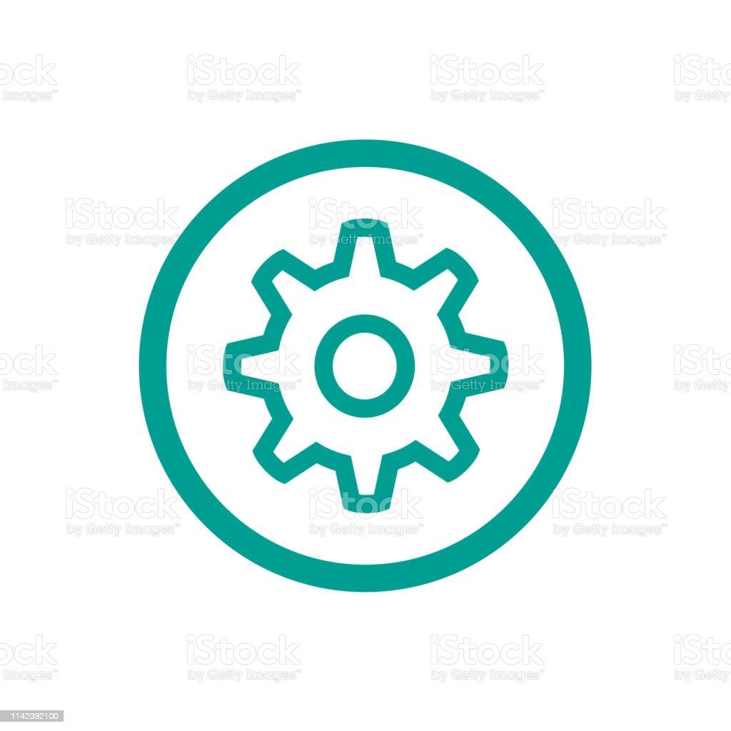 Cogwheel Icon Stock Illustration - Download Image Now