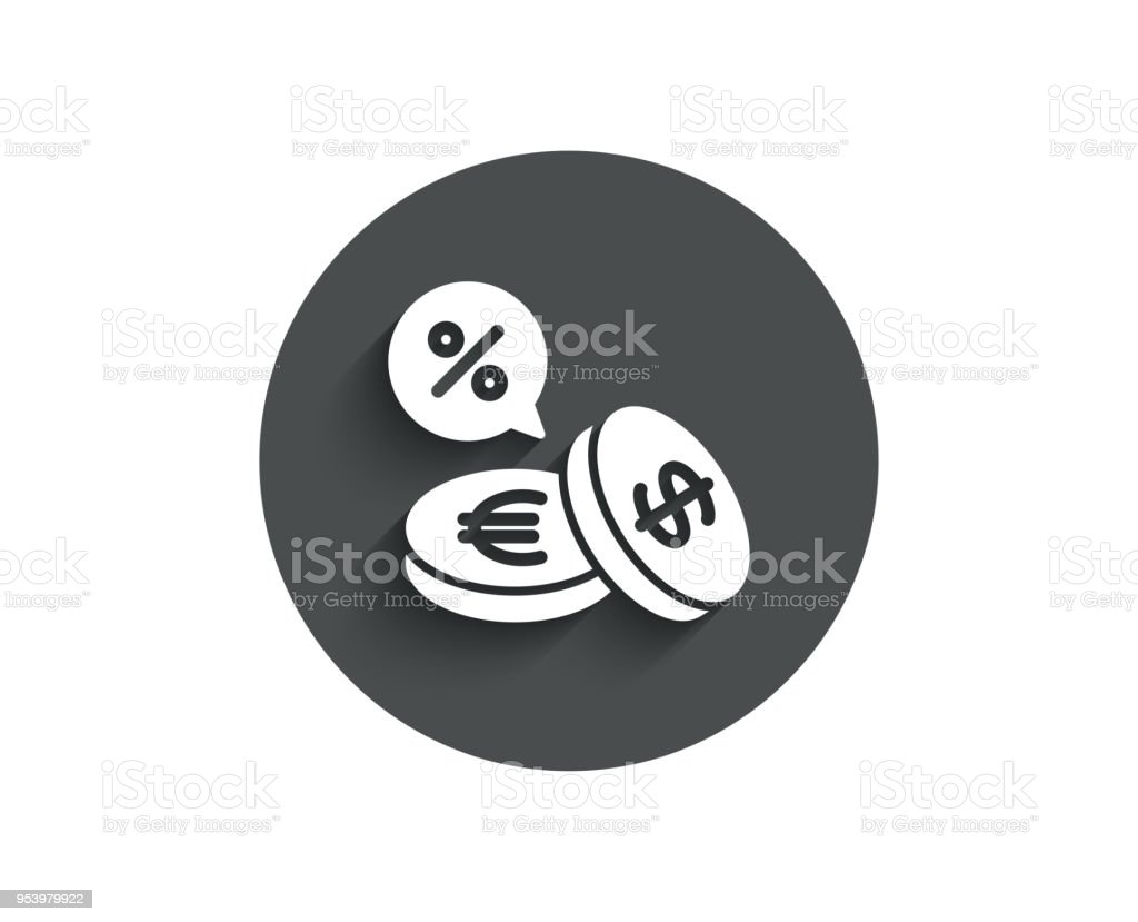 coins money simple icon cashback service stock vector art more
