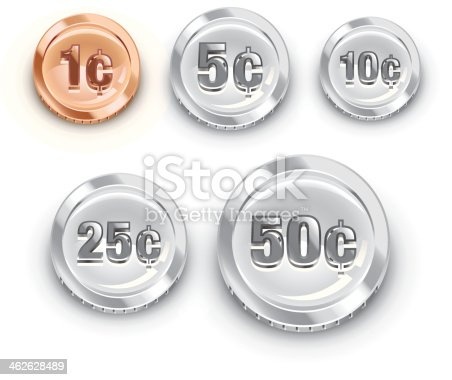 istock US coins 462628489