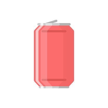 Coke Icon Flat Design.