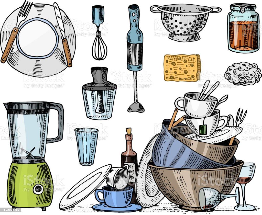 Utensilios de cocina vintage elegant vintage juego de for Utensilios de cocina vintage