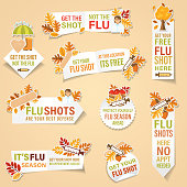 istock Cold And Flu Season Banners Stickers 1266494407