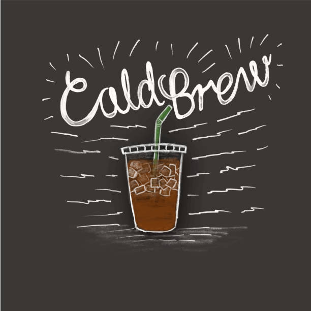 Royalty Free Cold Brew Coffee Clip Art, Vector Images ...