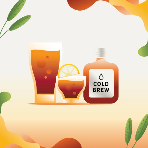 Top Cold Brew Coffee Clip Art, Vector Graphics and ...