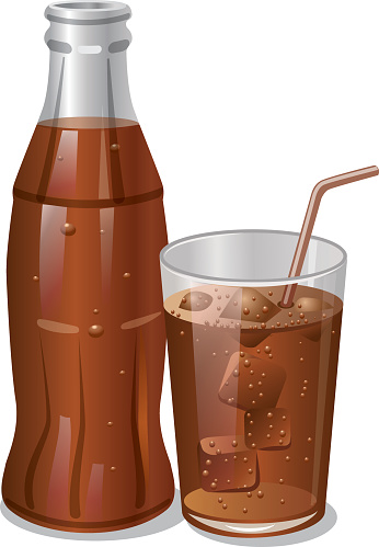 cold cola drink