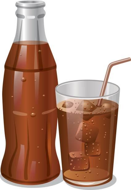 ilustrações, clipart, desenhos animados e ícones de bebida de cola fria - refrigerante