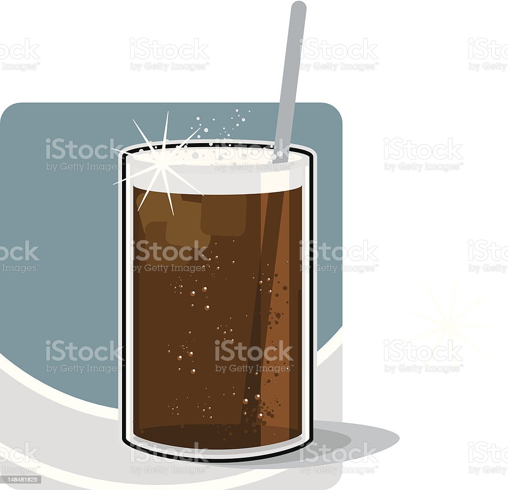 cold drink royalty-free stock vector art