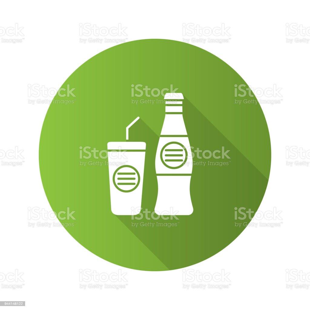 Kalte Getränkesymbol Stock Vektor Art und mehr Bilder von ...