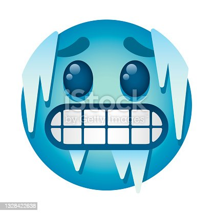 istock Cold Emoji Icon 1328422638