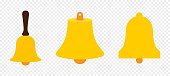 colection bells. school bell icon. church bell icon. christmas bell icon