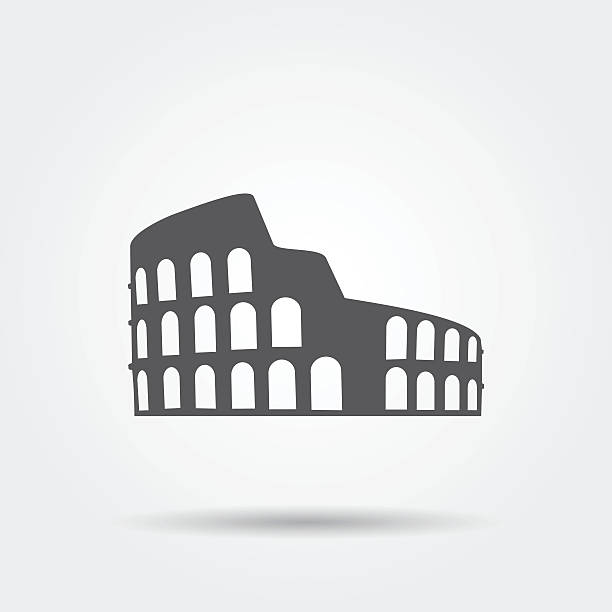 Coliseum-Symbol. – Vektorgrafik