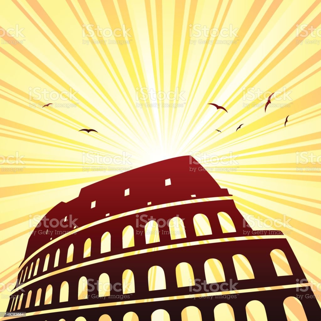Coliseum royalty-free coliseum stock vector art & more images of amphitheater