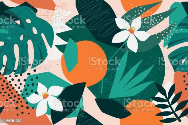 Collage contemporary floral seamless pattern modern exotic jungle vector id1166251232?b=1&k=6&m=1166251232&s=612x612&h=hiue3kx9r6mo1nyjxswdyz8 ligpxx ijicf72enf1q=