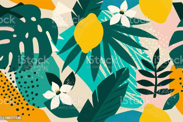 Collage contemporary floral seamless pattern modern exotic jungle vector id1166277130?b=1&k=6&m=1166277130&s=612x612&h=mc vjr0exwhyl1p4y8rw onjgypcsznygjzjgn3wiyy=