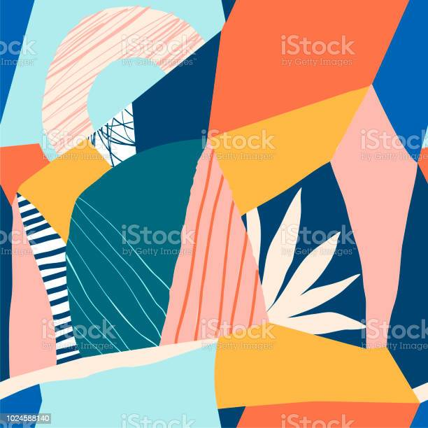 Collage contemporary floral seamless pattern vector id1024588140?b=1&k=6&m=1024588140&s=612x612&h=6rbdtoo9bwhbbktsrfqyqtab3 sqs kqchbgwtppkiy=