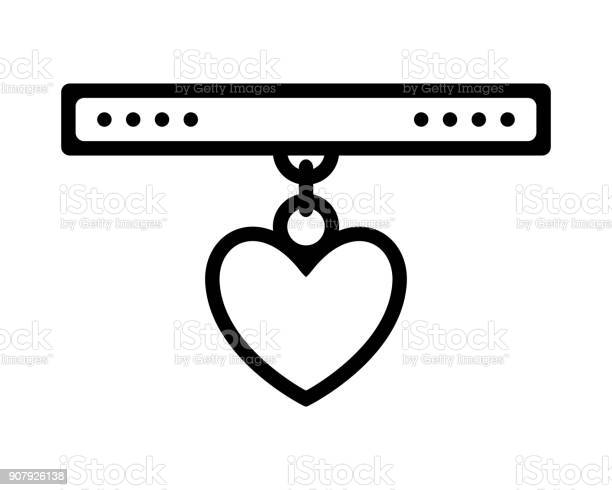 Collar for cat or dog pet flat icon object vector vector id907926138?b=1&k=6&m=907926138&s=612x612&h=nqh4r aall15jjl gpnr0uytmivlirjicsofebwye5y=