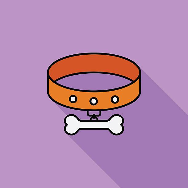 kragen-symbol. - hundehalsbänder stock-grafiken, -clipart, -cartoons und -symbole