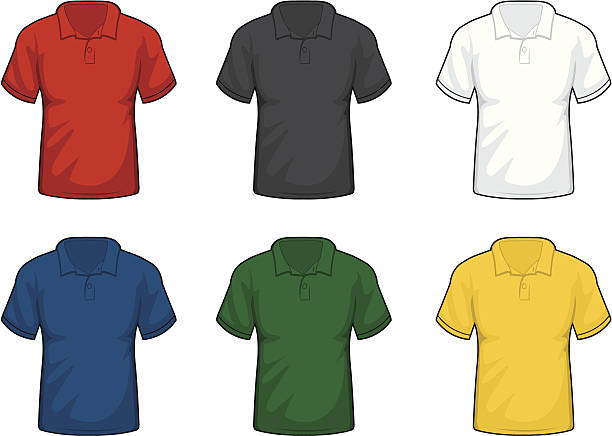 Image result for collared shirt clipart