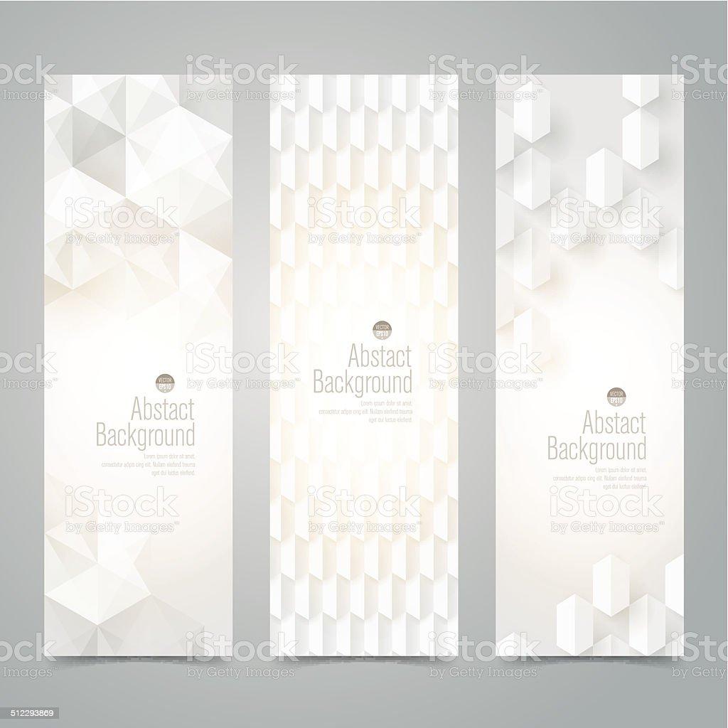 Collection banner design, white background, vector illustration. vector art illustration