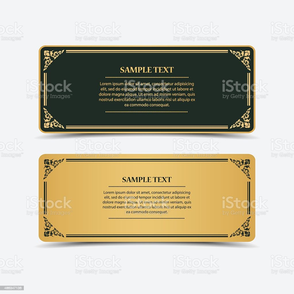 Collection banner design.vector vector art illustration