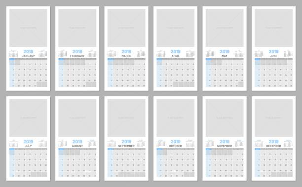 Royalty Free Monday Through Friday Calendar Pictures Clip Art