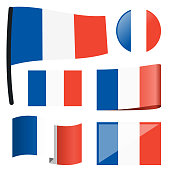 collection flags France