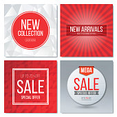 Pop Up Store, Web Banner, Circle, Discount Store, Flyer - Leaflet