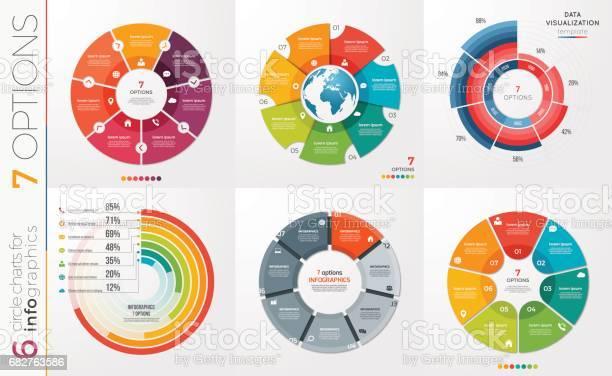 Collection of 6 vector circle chart templates 7 options vector id682763586?b=1&k=6&m=682763586&s=612x612&h=fvrcyyup6s6xotn40jhozznpjxalgcssjygcqnxsns0=