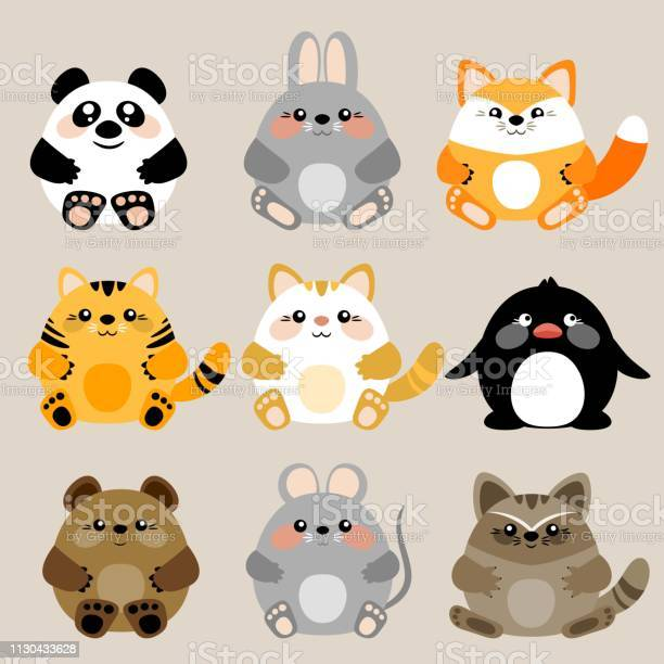 Collection of 6 vector cute kawaii baby animals vector id1130433628?b=1&k=6&m=1130433628&s=612x612&h= 0ccdu4om4d1k0sxc lmd kninkty chkaqougqqmgm=