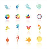 Collection Of Abstract Symbols. EPS-10